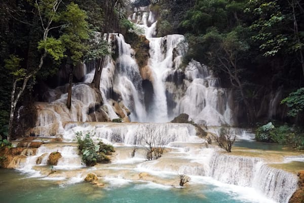 Tad Sae Waterfall,Laos