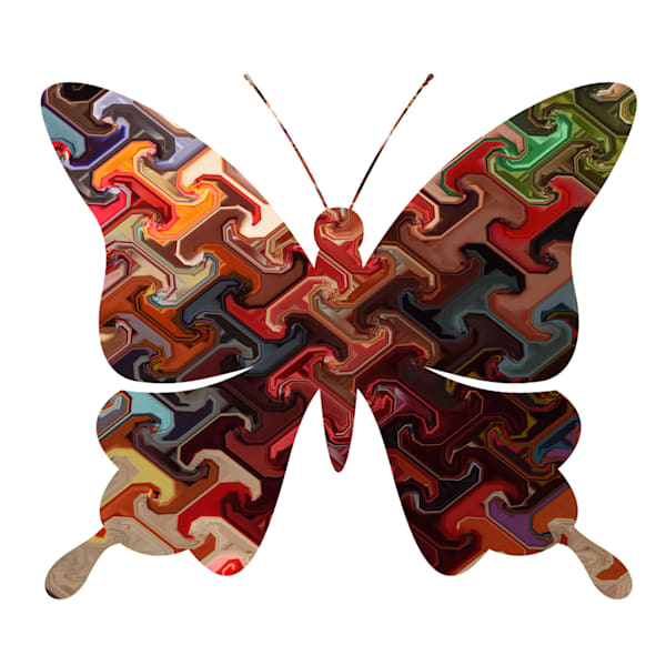 Abstract Butterfly Six