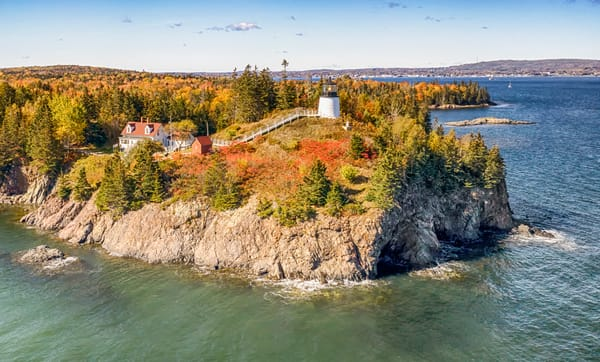 Owls Head Light Fall