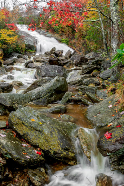 Autumn Second Falls V Art | Red Rock Photography