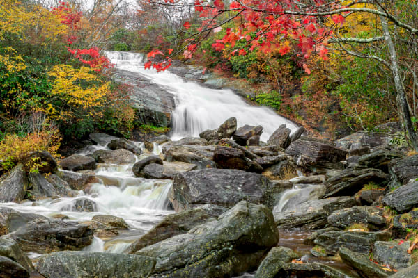 Autumn Second Falls H Photography Art | Red Rock Photography