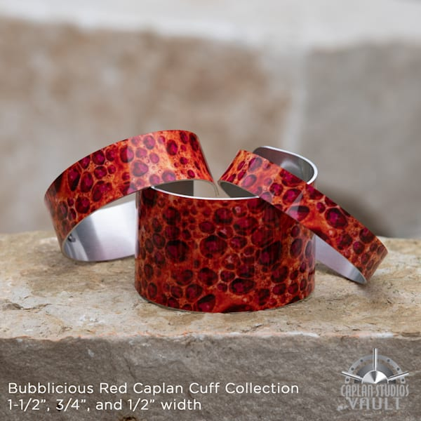 Bubblicious Red Caplan Cuff