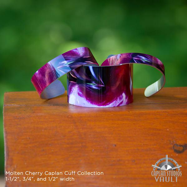Molten Cherry Caplan Cuff