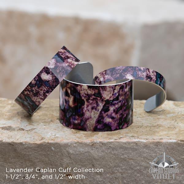 Lavender Pieces Caplan Cuff