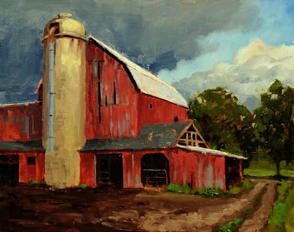 """Plymouth Dairy Farm"" Art | C.A.S.H. Art ""all things artistic"""