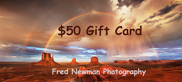 $50 Gift Card | frednewmanphotography