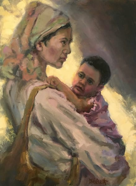 Mother And Child Art by donaldhildreth