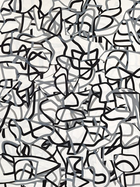 Lumen by Daniel Voelker. Collage abstract art.