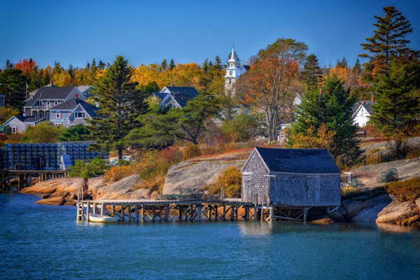 Autumn Afternoon in Corea, Maine | Shop Photography by Rick Berk