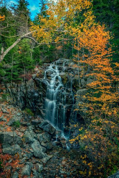 Hadlock Falls on an Autumn Day | Shop Photography by Rick Berk