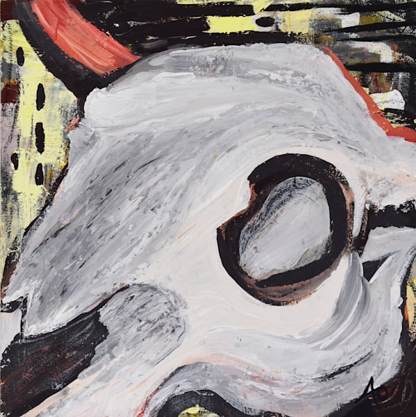 Cow Skull #1 Art | Amy O'Hearn Art