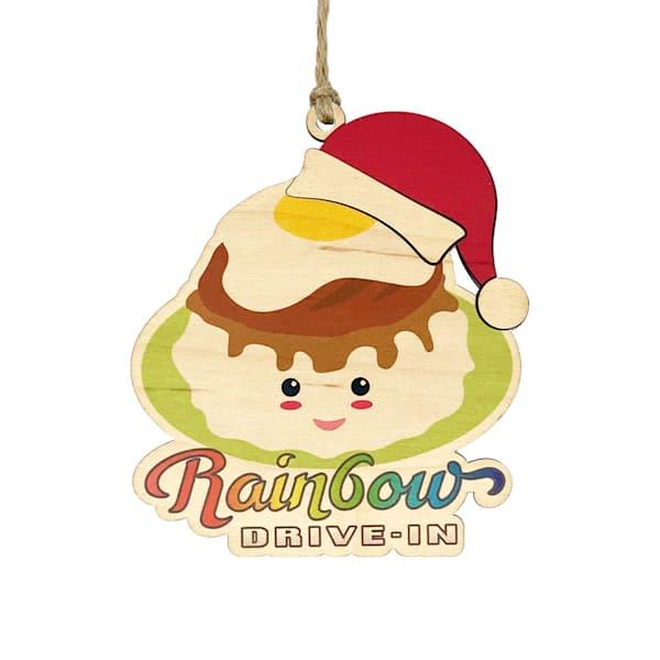 HI Biz Ornaments | Rainbow Drive-In Limited Edition Ornament