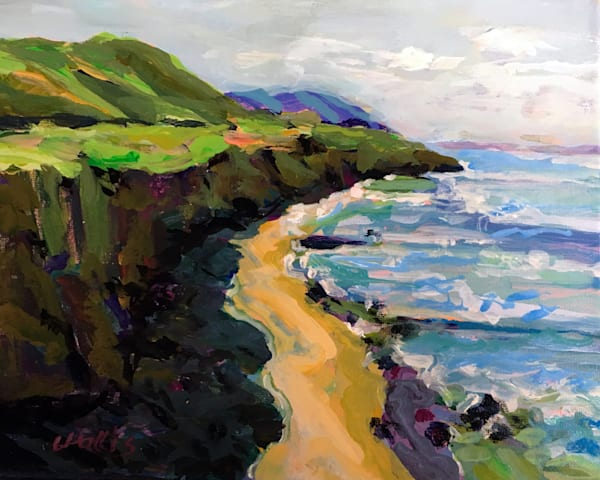 California Coastline  Art | Charles Wallis