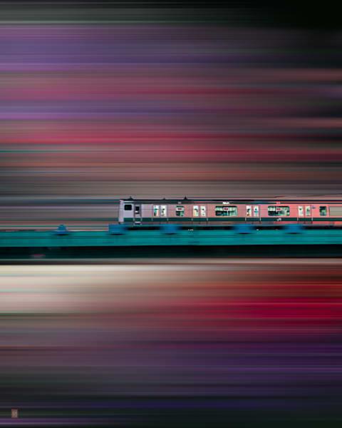 Train Photography, Matej Silecky, Tokyo Japan, Bullet Train