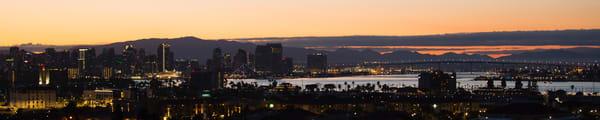 First Light Over San Diego Photography Art | Kristofer Reynolds Photography