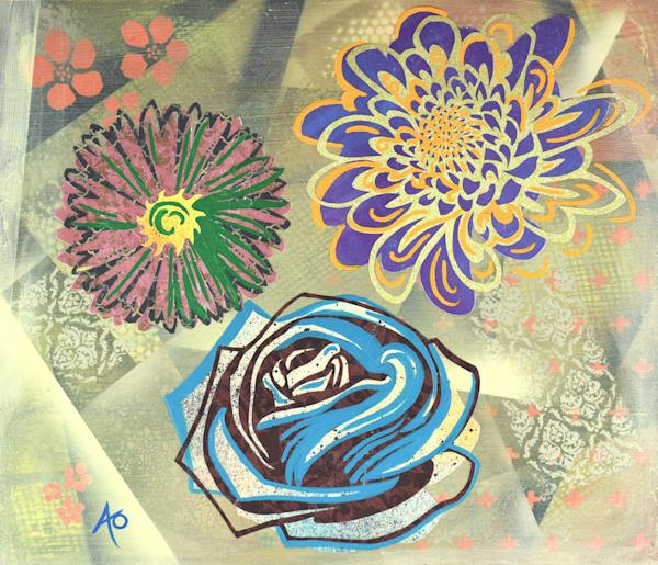 Jessica's Flowers Art   Amy O'Hearn Art