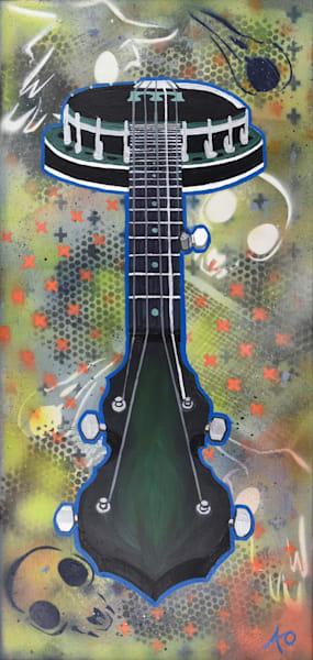 Banjo Art | Amy O'Hearn Art