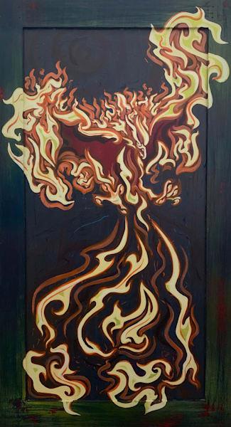 Phoenix #2 Art | Amy O'Hearn Art