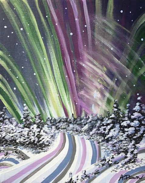 Aurora Borealis  Art | a.dawn art