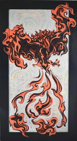 Phoenix #1 Art   Amy O'Hearn Art