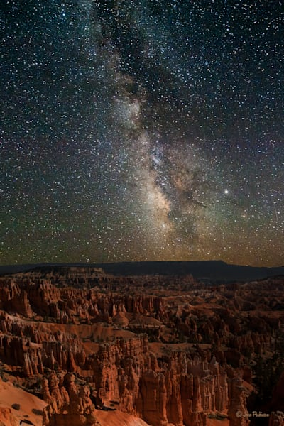 Bryce and the Milky Way, Utah