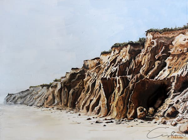 Hoodoos, I * Original Oil Painting by Candace Ceslow.