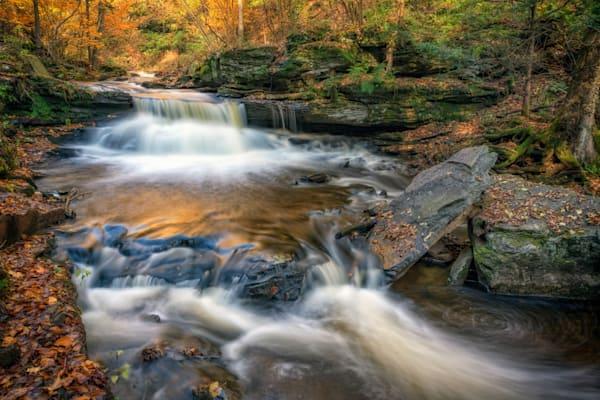 Autumn in Ricketts Glen   Shop Photography by Rick Berk