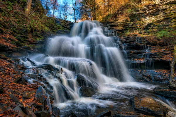 Autumn at Erie Falls | Shop Photography by Rick Berk