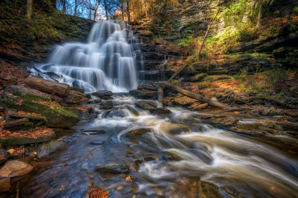 Ricketts Glen's Erie Falls | Shop Photography by Rick Berk