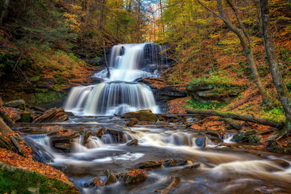 Tuscarora Falls | Shop Photography by Rick Berk