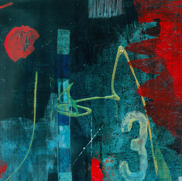 Red And Blue 2 Art | Susanne Clark