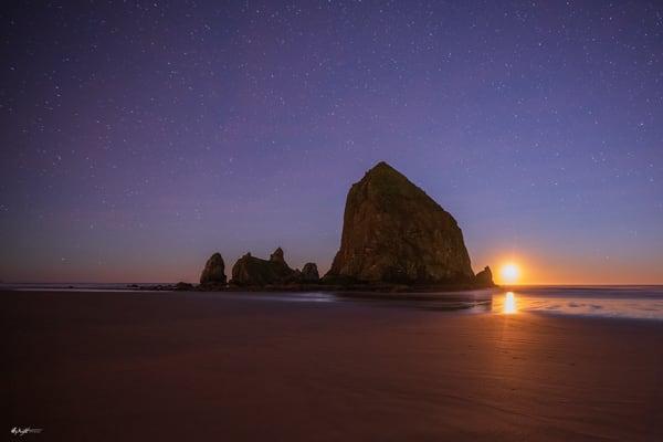 Cannon Moonset Art | Jeffrey Knight Photography