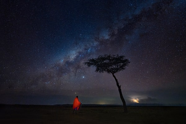 Milky Way Over The Maasai Mara Photography Art | Carol Brooks Parker Fine Art Photography
