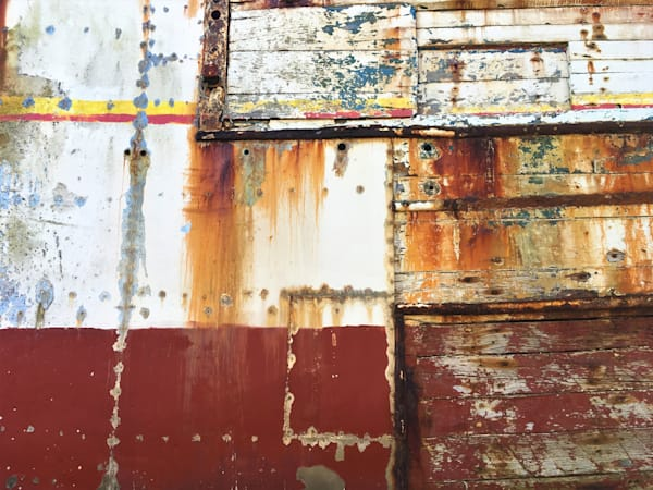 boat hull closeup