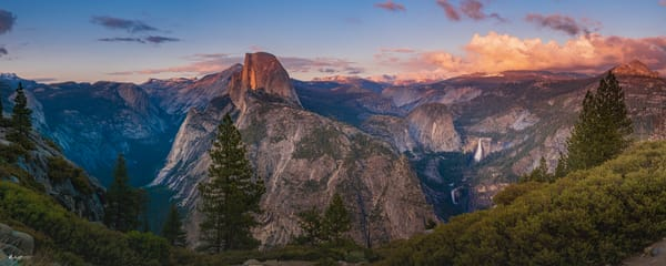 Twilight At Halfdome Art | Jeffrey Knight Photography