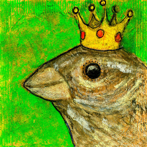 Bird King Art | Fine Art New Mexico