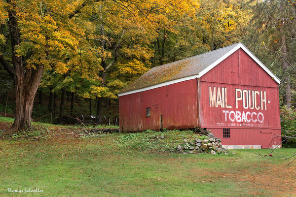 Mail Pouch Barn Photo Art Prints | Historic Brown's Forge Barn in Connecticut