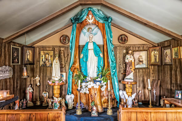 Our Lady of Blind River - Louisiana swamp photography prints