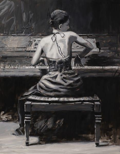 Spirited, Black And White Art | Andrea Clarkson