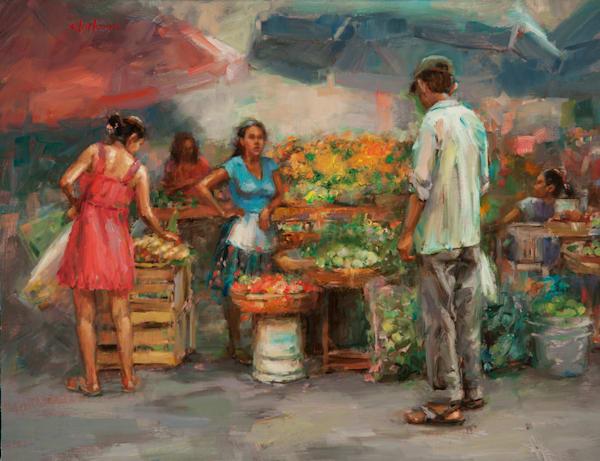 Marigolds Art | Andrea Clarkson