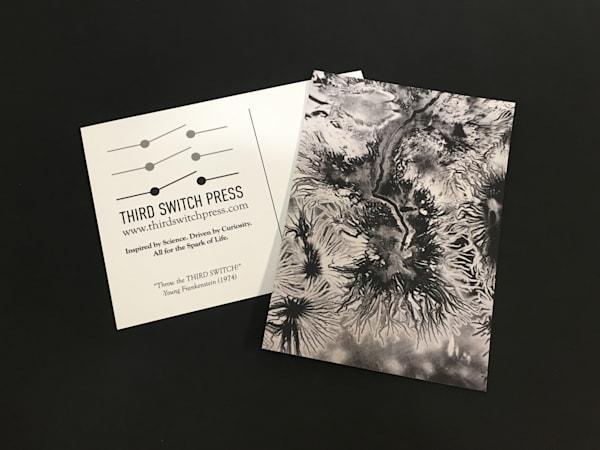 Electrostatics Postcard 02 by Kim Gatesman