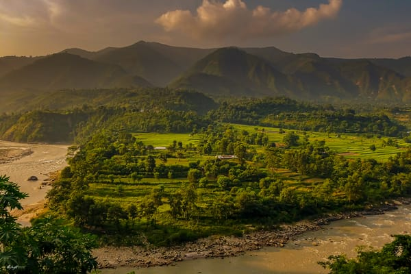 Trishui River Nepal