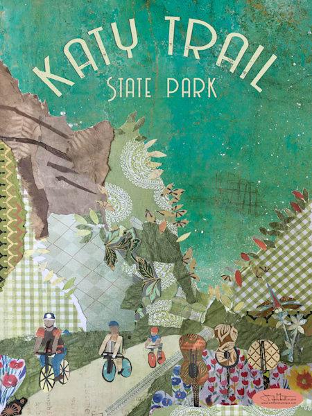 Katy Trail State Park Art | Jenny McGee Art