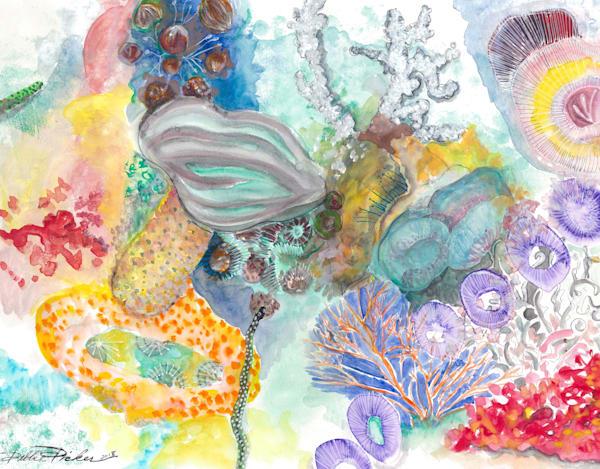 Fiji Coral Reef Art   Debbie Dicker - Art