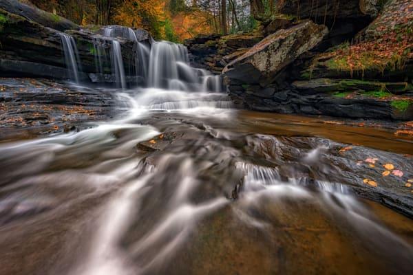 Dunloup Creek, West Virginia   Shop Photography by Rick Berk