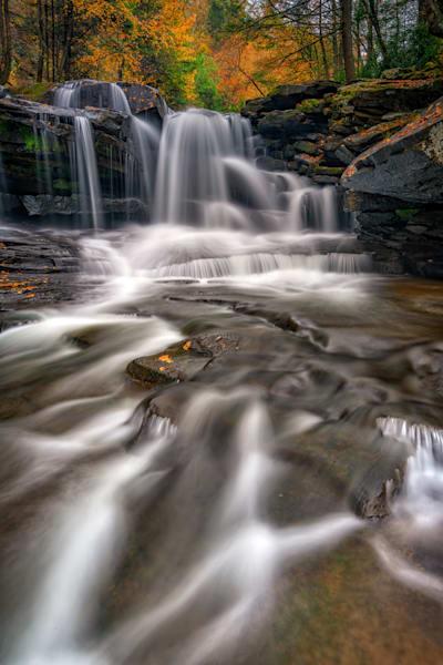 Dunloup Creek Falls   Shop Photography by Rick Berk