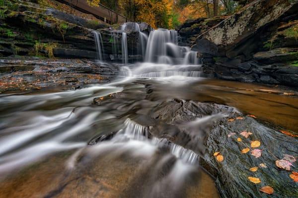 Autumn at Dunloup Creek   Shop Photography by Rick Berk