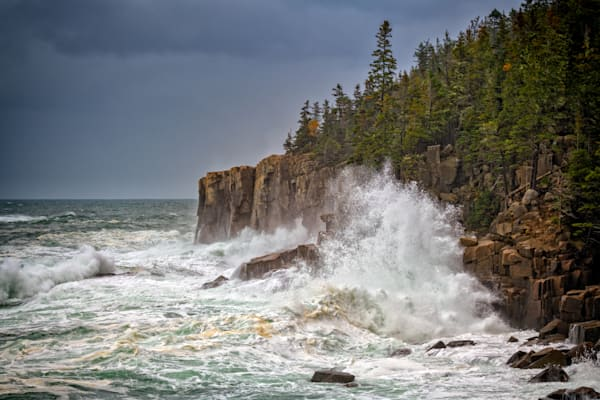 Autumn Storm in Acadia | Shop Photography by Rick Berk