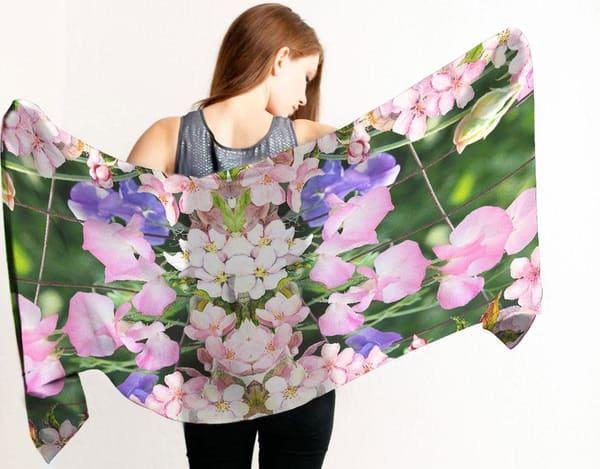 Spring Blossom Scarf | Carrera Fine Art Gallery