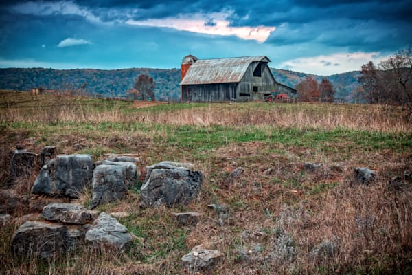 Old Barn, Lewisburg, West Virginia | Shop Photography by Rick Berk